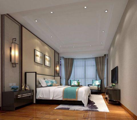 卧室细节新中式风格装潢图片