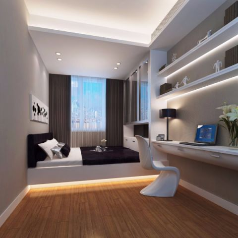卧室榻榻米现代风格装修设计图片