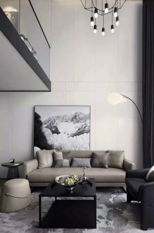 客厅背景墙简单风格装修设计图片