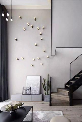 客厅背景墙简单风格装饰设计图片