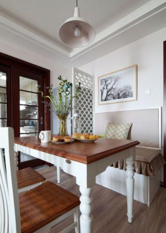 餐厅餐桌混搭风格装潢设计图片