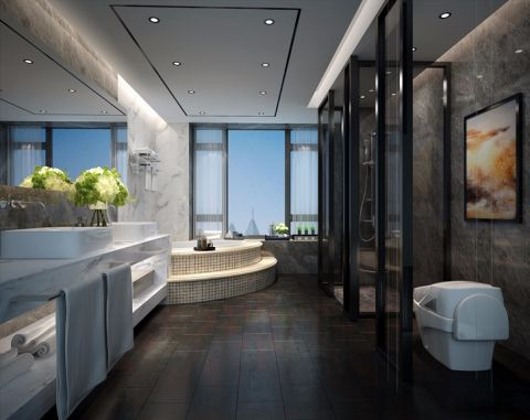 卫生间吊顶欧式风格装潢图片