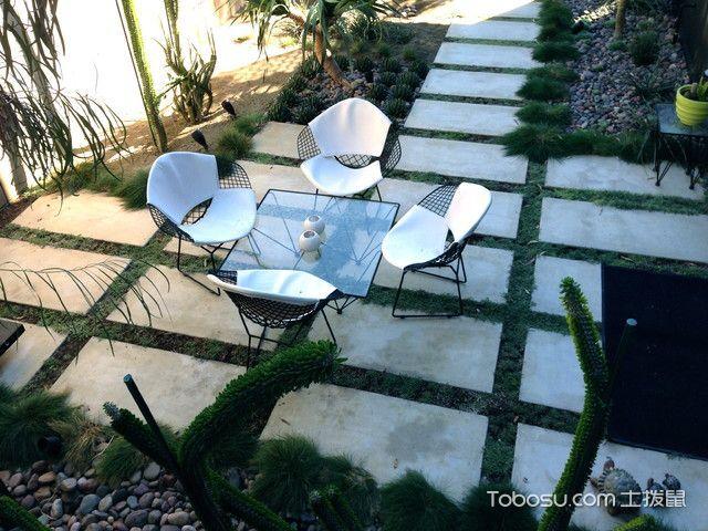 阳台绿色吧台现代风格装潢效果图