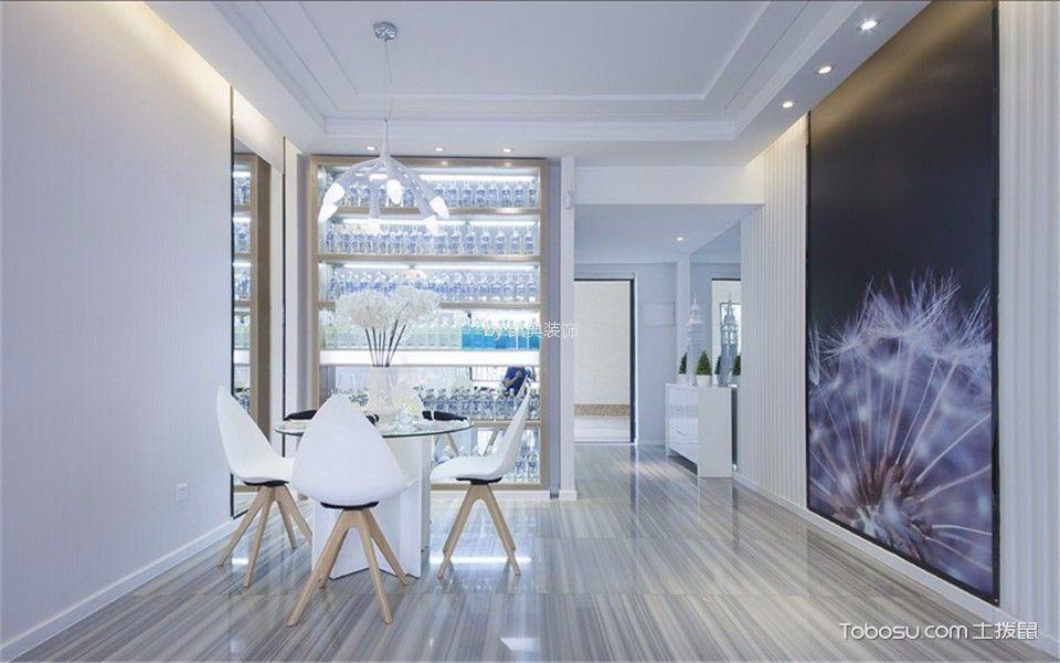 定淮门9号小区69平米现代简约1室1厅1卫装修效果图