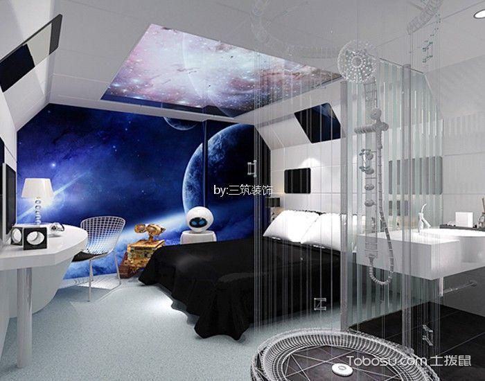 蜜桃湾主题酒店标准房标准房白色地板装修图片