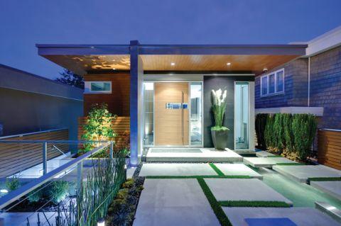 玄关门厅现代风格装饰图片