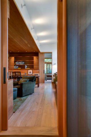 客厅门厅现代风格装修设计图片