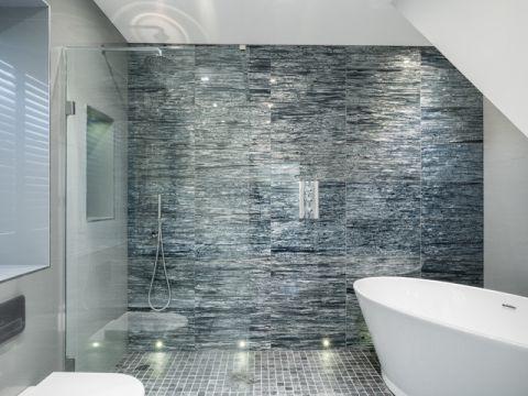 卫生间推拉门现代风格装饰效果图