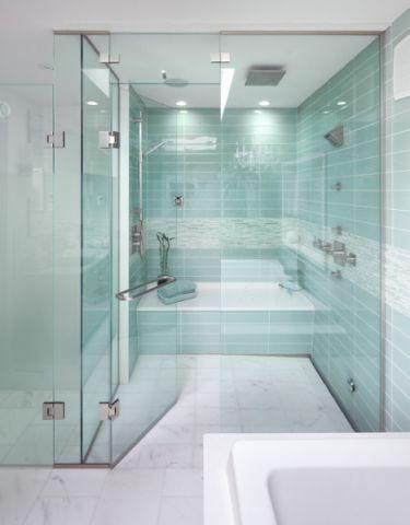卫生间推拉门现代风格装潢效果图