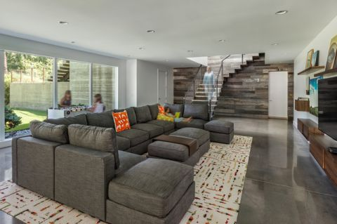 客厅细节现代风格效果图