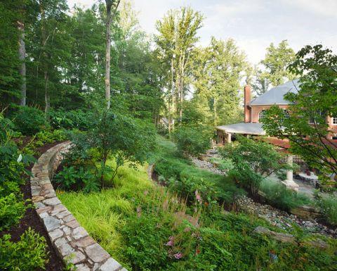 花园细节美式风格装饰设计图片