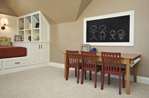 儿童房细节美式风格装饰效果图