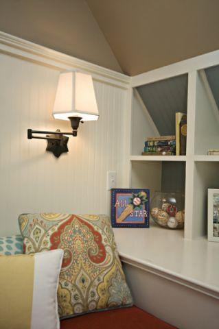 儿童房细节美式风格装潢效果图