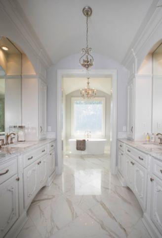 卫生间细节美式风格装饰效果图