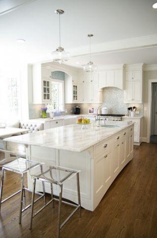 完美舒适美式风格厨房装修效果图_土拨鼠2017装修图片大全