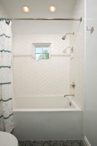 时尚创意美式风格浴室装修效果图_土拨鼠2017装修图片大全