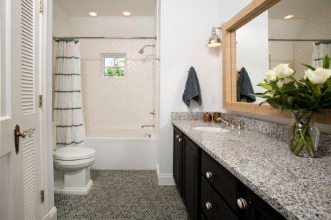 卫生间细节美式风格装修效果图