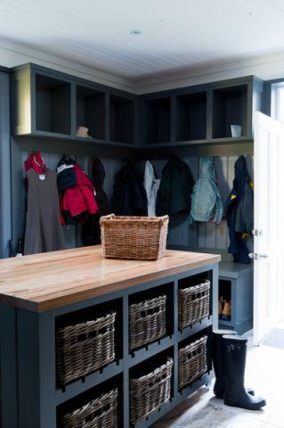 厨房门厅美式风格装饰图片