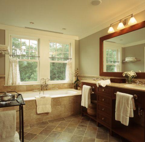 卫生间细节美式风格装潢效果图