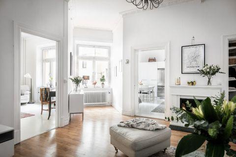 潮流个性简欧风格客厅装修效果图_土拨鼠2017装修图片大全