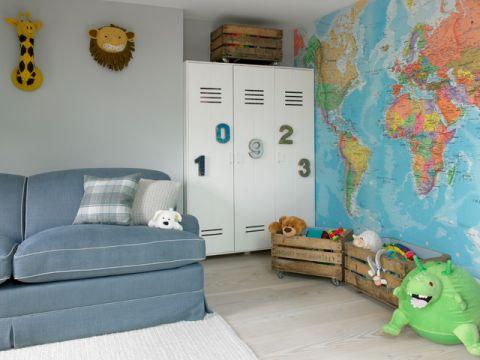 儿童房细节简欧风格装潢效果图