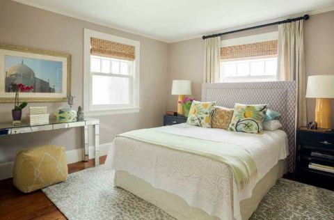 卧室细节简欧风格效果图