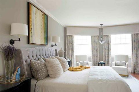 卧室窗台简欧风格装修效果图