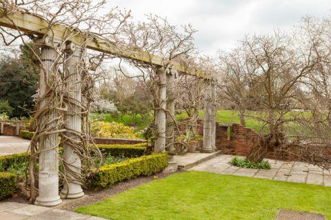 花园细节简欧风格装潢效果图