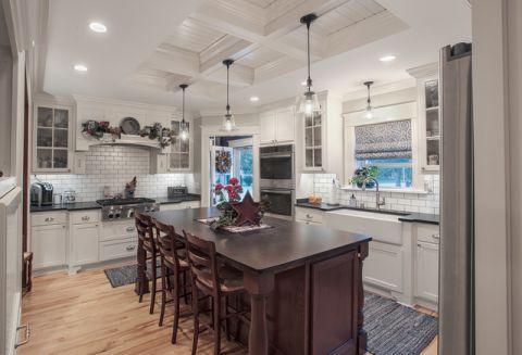 厨房橱柜简欧风格装饰图片