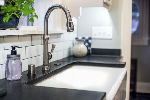 厨房细节简欧风格装潢设计图片