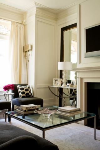 客厅细节简欧风格装潢效果图
