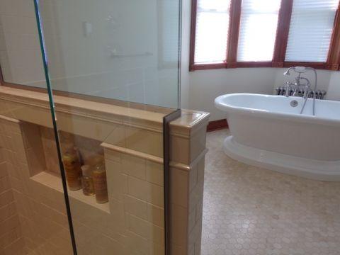 卫生间细节简欧风格效果图