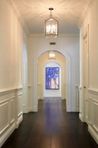 走廊简欧风格装潢设计图片