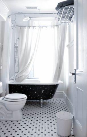 卫生间白色细节简欧风格装饰图片