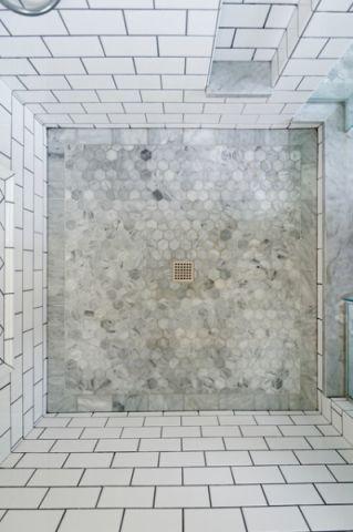 卫生间白色细节简欧风格装潢图片