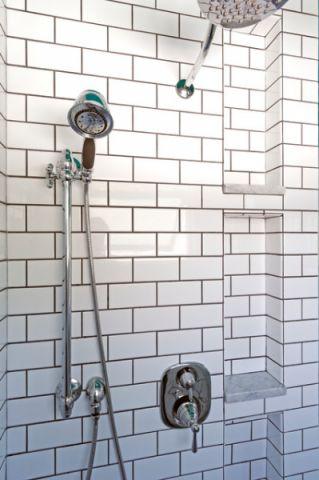 卫生间白色细节简欧风格装饰设计图片