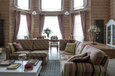 客厅飘窗混搭风格装饰图片