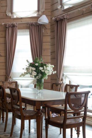 餐厅细节混搭风格装潢设计图片