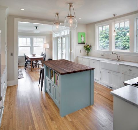 厨房吧台混搭风格装修效果图