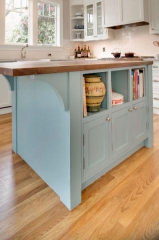 厨房橱柜混搭风格装修图片