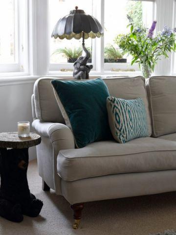 客厅细节混搭风格装饰设计图片