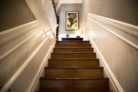 客厅走廊混搭风格装潢设计图片