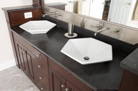 卫生间橱柜混搭风格装修效果图