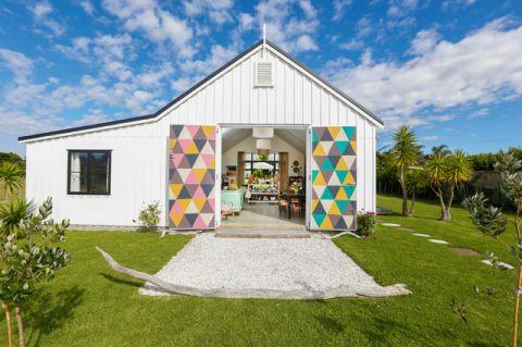 外景外墙混搭风格装饰效果图