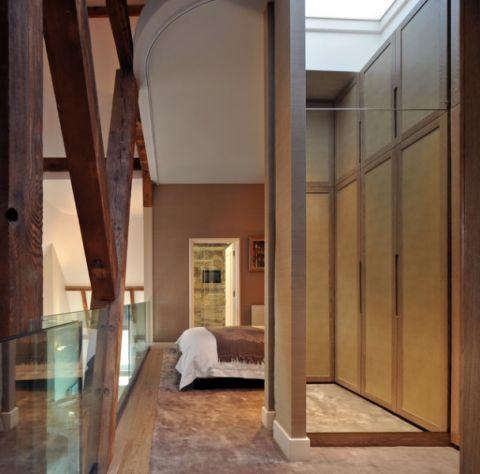 卧室门厅现代风格效果图