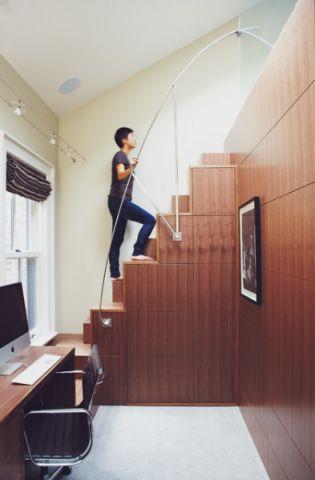 客厅楼梯现代风格装修设计图片