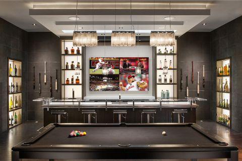 吧台现代风格装饰设计图片