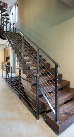 楼梯现代风格装潢图片