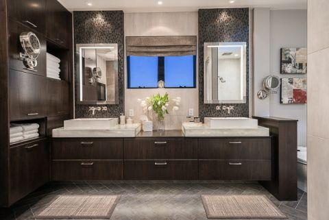 卫生间现代风格装修设计图片