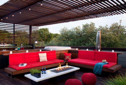 阳台窗台现代风格效果图
